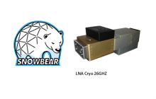 Callisto supplied the Cryogenics & Ambient LNAs at 26 GHZ band for the ESA Snowbear project